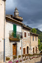Valldemossa the old village of in mallorca spain Stock Image