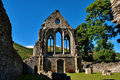 Valle crucis abbey at llantysilio wales ruins of a cistercian monastery in denbighshire Stock Images