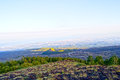 Valle del bove mount etna sicily lava of Royalty Free Stock Photos