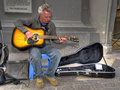 Valletta Busker Royalty Free Stock Photos