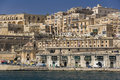 Valletta from the Grand Harbor - Malta Stock Image