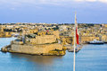 Maltese Flag Royalty Free Stock Photo