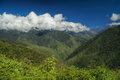 Valley in Andes Royalty Free Stock Photo