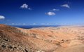 Valley of Betancuria, central Fuerteventura, Canary Islands. Royalty Free Stock Photo