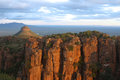 Valley of desolation the atmospheric and magnificent in south africa Stock Photos