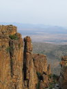Valley of desolation the is a south african national monument that lies within the camdeboo national park Stock Image