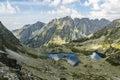 Valley - Dolina Zabia Mieguszowiecka (Dolina Zabia, dolina Zabich plies, kotlina Zabich plies) and ridge - Gran Baszt (hreben Bast