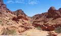 A valley of fire state park view north las vegas nevada Stock Photo