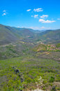The Valley of Hierve el Agua, Oaxaca, Mexico Royalty Free Stock Photo