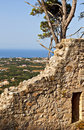 Valley of Leivathous at Kefalonia island Stock Photography