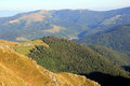 Valley of munster in alsace landscapes the vosges france Royalty Free Stock Images