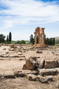 Valley of the temples agrigento Royalty Free Stock Photography