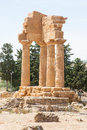 Valley of the temples agrigento Stock Photography