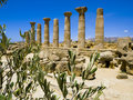 Valley of the Temples Sicily Italy Royalty Free Stock Image