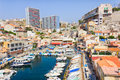 Vallon des auffes marseilles france south of Royalty Free Stock Images