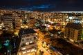 Valparaiso aerial shot Royalty Free Stock Photo