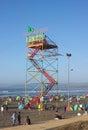 Valparaiso Beach - Chile - III - Royalty Free Stock Photo