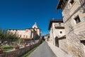 Valpuesta village and ancient monastery, origin of the spanish l