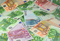 Valuta europea Fotografia Stock