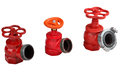 Valves hydrant fire hose connection of