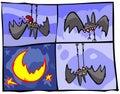 Vampire Bats Royalty Free Stock Photo