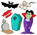 Vampire collection Royalty Free Stock Images