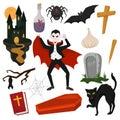 Vampire Vector Cartoon Dracula...