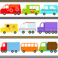 Van / Truck Vehicles / Freight Transportation Stock Photos