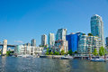 Vancouver british columbia canada beautiful view of Stock Photography