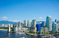 Vancouver british columbia canada beautiful view of Royalty Free Stock Photo