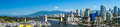 Vancouver british columbia canada beautiful view of Stock Photos