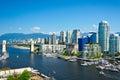 Vancouver british columbia canada beautiful view of Stock Photos