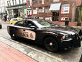 Vancouver British Columbia Police Cruiser Royalty Free Stock Photo