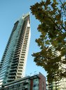 Vancouver downtown in early fall, BC, Canada Royalty Free Stock Photo