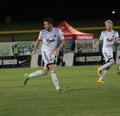 Vancouver whitecaps part of the united soccer league at peoria stadium in peoria az usa august Stock Photos