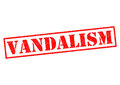 VANDALISM Royalty Free Stock Photo