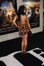 Vanessa hudgens at the legend of the guardians world premiere chinese theatre hollywood ca Royalty Free Stock Images