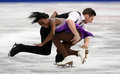 Vanessa JAMES / Morgan CIPRES (FRA) Royalty Free Stock Photo