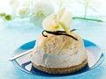 Vanilla ice cream  Stock Photo