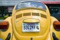 Vanity License Plate - Virginia Royalty Free Stock Photo