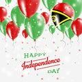 Vanuatu Vector Patriotic Poster. Independence Day.