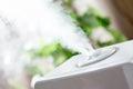 Vapor from humidifier Royalty Free Stock Photo