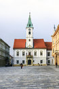 Varazdin s city hall croatia november one of the most famous landmark in town Royalty Free Stock Image