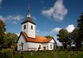 Vardinge church, Sweden Stock Images