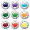 Varicolored buttons. Royalty Free Stock Photo