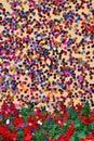 Varicolored confetti Royalty Free Stock Photo