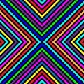 Varicolored squares lines seamless pattern background with different colors abstract background with black and coloured strakes or Royalty Free Stock Image