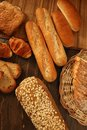 Varied bread still life Stock Photography
