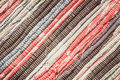 Variegated homespun Mat Royalty Free Stock Photo