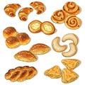 Variety of bakery
